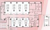 ハートンホテル北梅田3階の「こがね」。全3室ございます